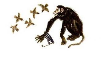 Лисица и обезьяна — Толстой Л.Н. Басня про глупость начальников.