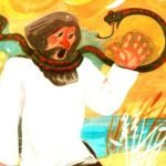 Лисицын суд - Заходер Б. Сказка про змею, мужика и лису.
