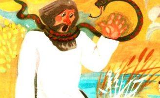 Лисицын суд — Заходер Б. Сказка про змею, мужика и лису.