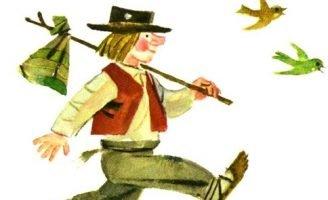 Лоток — латышская сказка. Сказка про паренька маленького роста.