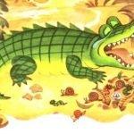 Ма-Тари-Кари - Заходер Б. Сказка про крокодила и маленькую птичку.