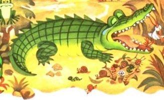 Ма-Тари-Кари — Заходер Б. Сказка про крокодила и маленькую птичку.