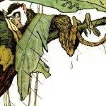 Мартышкино завтра - Заходер Б. Сказка про ленивую обезьянку.