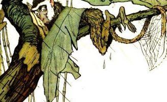 Мартышкино завтра — Заходер Б. Сказка про ленивую обезьянку.