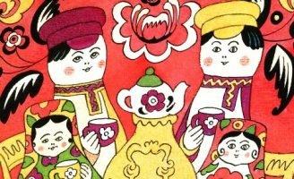 Матрешкины потешки — Берестов В. Стихи про игрушки.