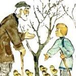 На что нужны мыши - Толстой Л.Н. Рассказ про яблони и мышей.