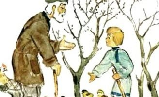На что нужны мыши — Толстой Л.Н. Рассказ про яблони и мышей.