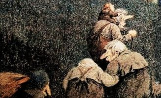 На пир в замок троллей — норвежская народная сказка. 5 (1)