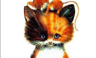 Непослушный котик — Головко А. Сказка про котенка.