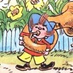 Незнайка-музыкант - Носов Н.Н. Незнайка играет на трубе.