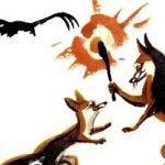 Орел и лисица - Толстой Л.Н. Басня про находчивую лисицу.