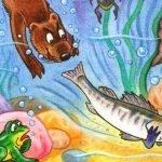 Почему рыбы молчат - Заходер Б. Сказка про болтливого Судака.