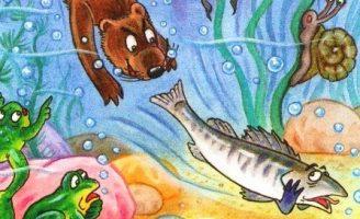 Почему рыбы молчат — Заходер Б. Сказка про болтливого Судака.