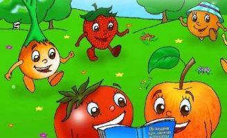 Потешки для малышей про овощи, фрукты и разные продукты Ч.2 0 (0)
