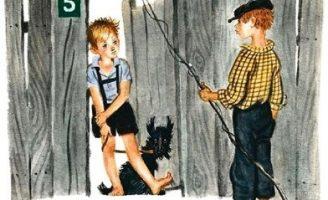 Похититель собак — Драгунский В. Рассказ про собаку Чапку.