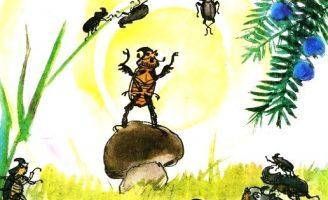 Похождения жука носорога — Паустовский К. Как жук на войну ходил.