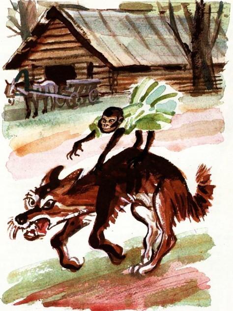 Про обезьянку - Житков Б.С.