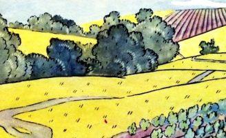 Речка Скнижка — Берестов В. История про речку с ивами по берегам. 0 (0)