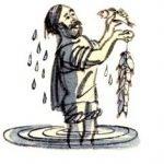 Рыбак и рыбка - Толстой Л.Н. Басня про рыбака, поймавшего рыбку.