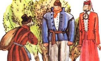Щепа и Кора — эстонская сказка. Сказка про скупого крестьянина.