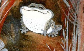 Серая звездочка — Заходер Б. Сказка про лягушонка.
