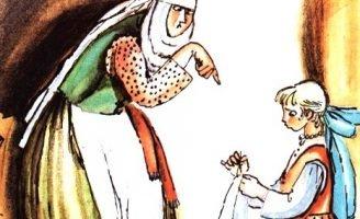 Сестрина любовь — литовская сказка. Как сестра братьев спасла.