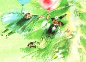 Сказка о двух снах - Абрамцева Н. Сказка про добрый и злой сон.