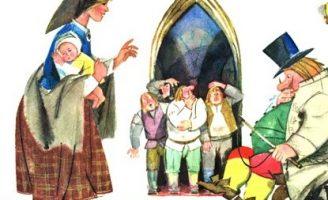 Сказка о мудрой жене — латышская сказка. Как жена мужа спасла. 0 (0)