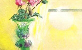 Сказка о старой вазе — Абрамцева Н. Сказка про цветы и вазу.