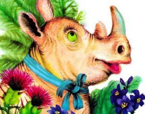 Сказка про доброго Носорога - Заходер Б. Про необычного носорога.