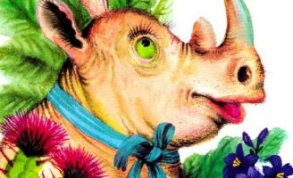 Сказка про доброго Носорога — Заходер Б. Про необычного носорога.
