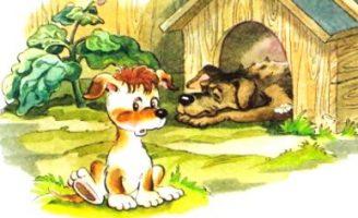 Сказка про щенка и старую тапочку — Абрамцева Н.