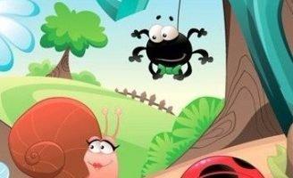 Сказка про жучка и паучка — Скородинская Д.