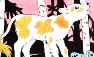 Скучно одному — Берестов В. Стихи для маленьких о животных.