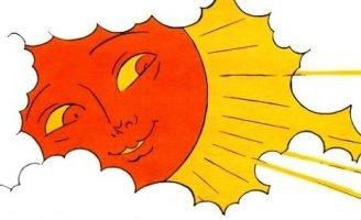 Солнечный зайчик — Берестов В. Приключения солнечного Зайчика. 5 (1)