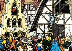 Сова - немецкая народная сказка. Как люди сову испугались.