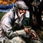 Старик в потертой шинели - Паустовский К. Про отставного офицера.