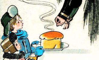 Теплый хлеб — Паустовский К. Рассказ про мальчика и коня.
