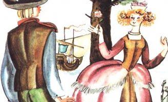 Узлы ветров — латышская сказка. Сказка про волшебную веревочку.