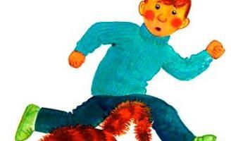 Язык — Голявкин В. Рассказ про ленивого мальчика Петю.