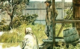 Жильцы старого дома — Паустовский К. Рассказ про разных жителей.