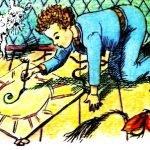 Змей-хвастунишка - Берестов В. Сказка про воздушного змея.
