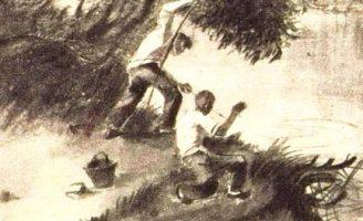 Золотой линь — Паустовский К. Рассказ про удачную рыбалку.