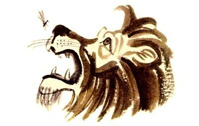 Комар и лев - Толстой Л.Н.