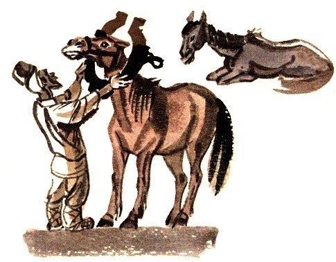 Конь и кобыла - Толстой Л.Н.