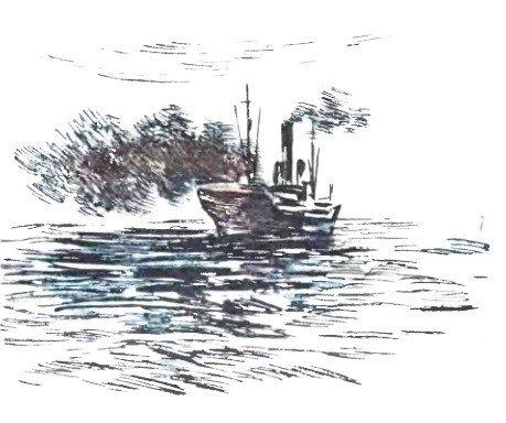 Пожар в море - Житков Б.С.