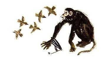 Лисица и обезьяна - Толстой Л.Н.