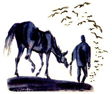 Лошадь и хозяева - Толстой Л.Н.