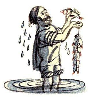 Рыбак и рыбка - Толстой Л.Н.