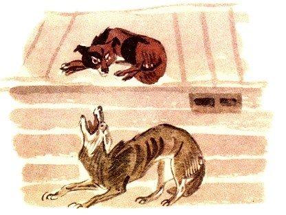 Собака и волк - Толстой Л.Н.